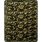 "60"" x 80"" Blanket Comfort Warmth Soft Cozy Air conditioning Easy Care Machine Wash Camouflage"