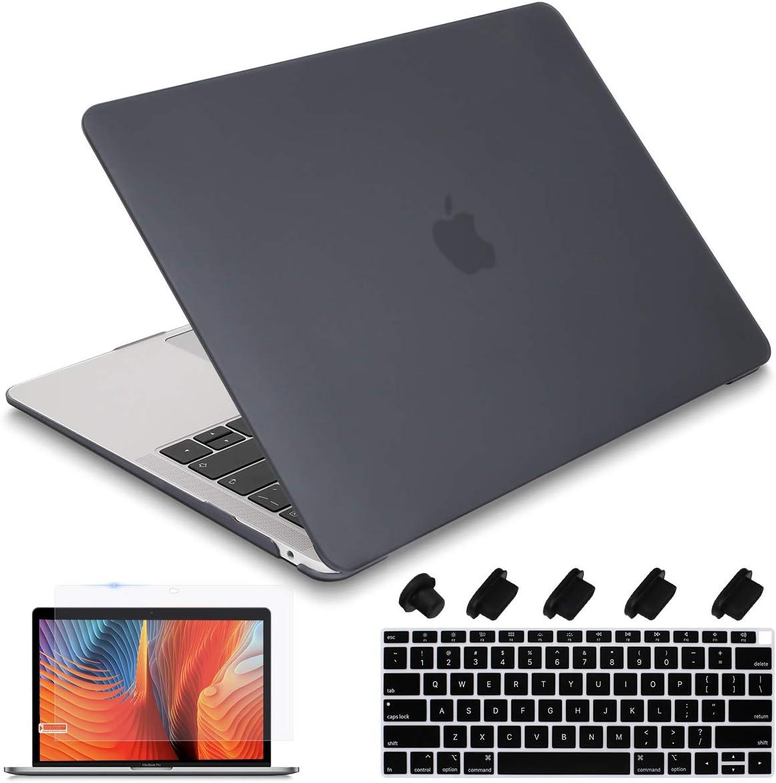 iCasso MacBook Air 13 Zoll H/ülle 2020 2019 2018 Release A2337M1 // A1932 // A2179 kompatibel mit MacBook Air 13 Zoll mit Touch ID Retina Display Brain Hartschale Schutzh/ülle und Tastaturabdeckung