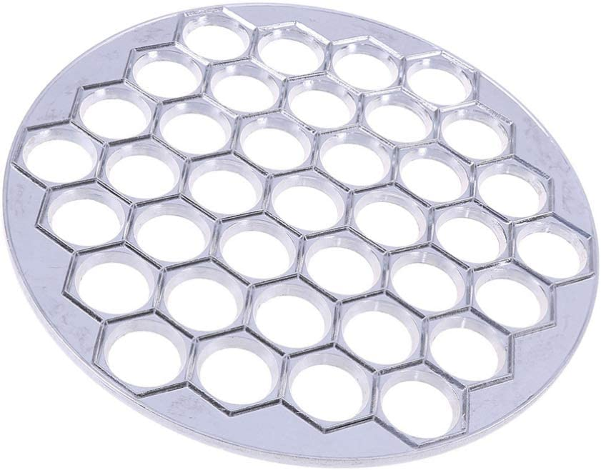 37 Holes Dumpling Mould Tools Dumplings Maker Ravioli Aluminum Mold Pelm L7A3 2X