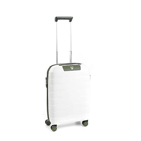 Roncato Box 2.0 Maleta, 54 cm, 40 litros, Blanco/Verde