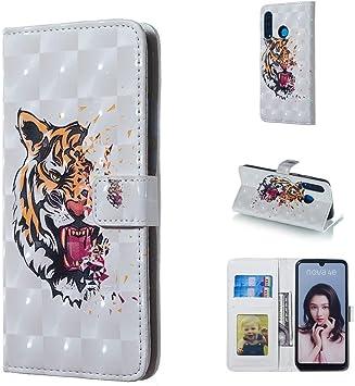 Happy-L de Estuche Tiger Pattern 3D: Amazon.es: Electrónica
