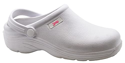 e6bf359c7a4 Hey Medical Uniforms Womens Lightweight EVA Clogs White