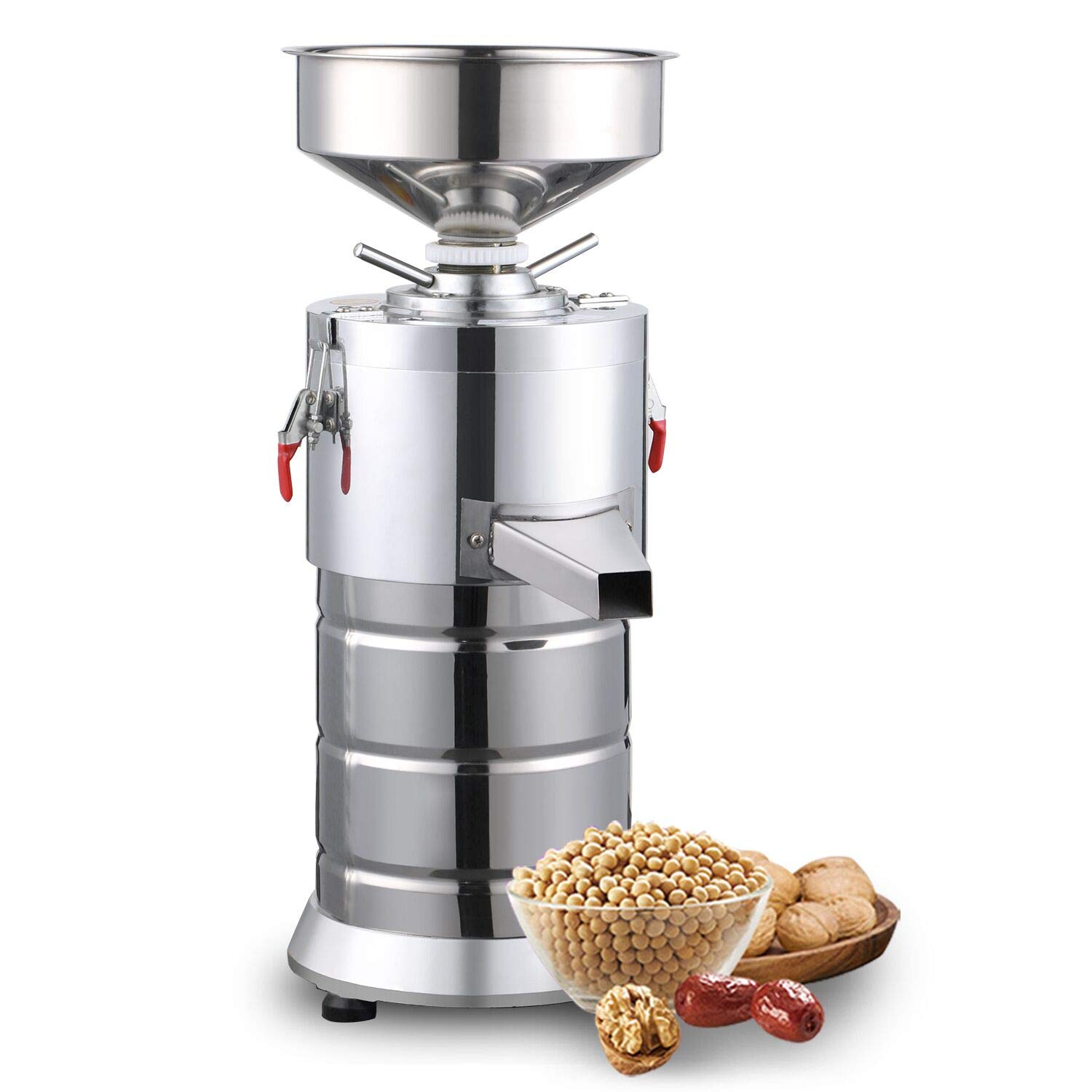 110V Electric Peanut Butter Maker Machine,Commercial Electric Grain Grinder Sesame Sauce and Peanut Sauce Grinder Commercial Peanut butter maker Sesame Butter Milling machine 15kg/h 1100W by Smart Life