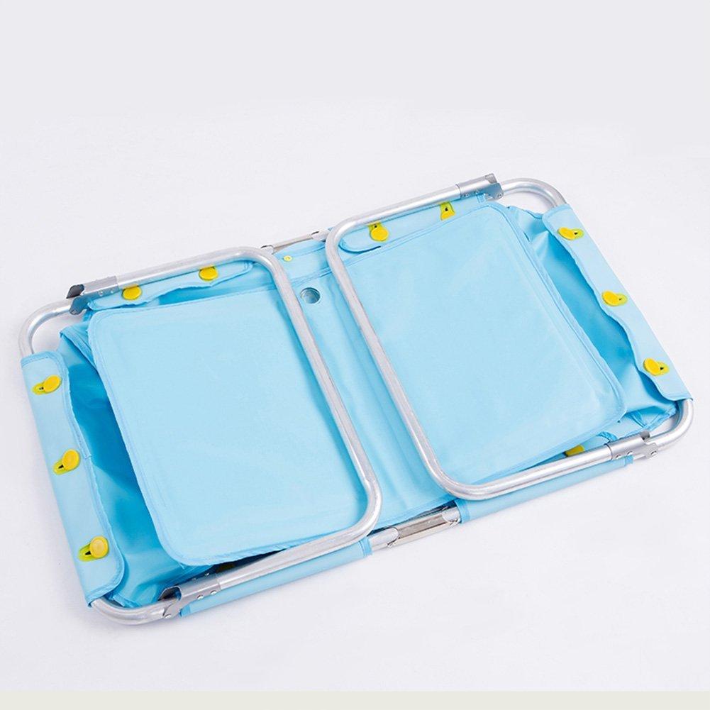 Amazon.com : OLizee Large Portable Foldable Baby Bathtub Aluminum ...