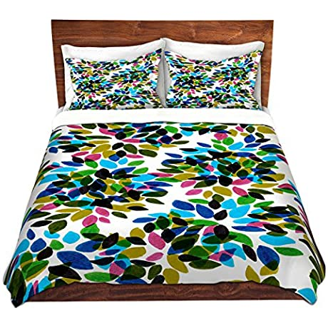 DiaNoche Designs Dahlia Dots I Bedroom And Bedding Ideas Cover Brushed Twill Twin Queen 8 King Duvet Sham Set