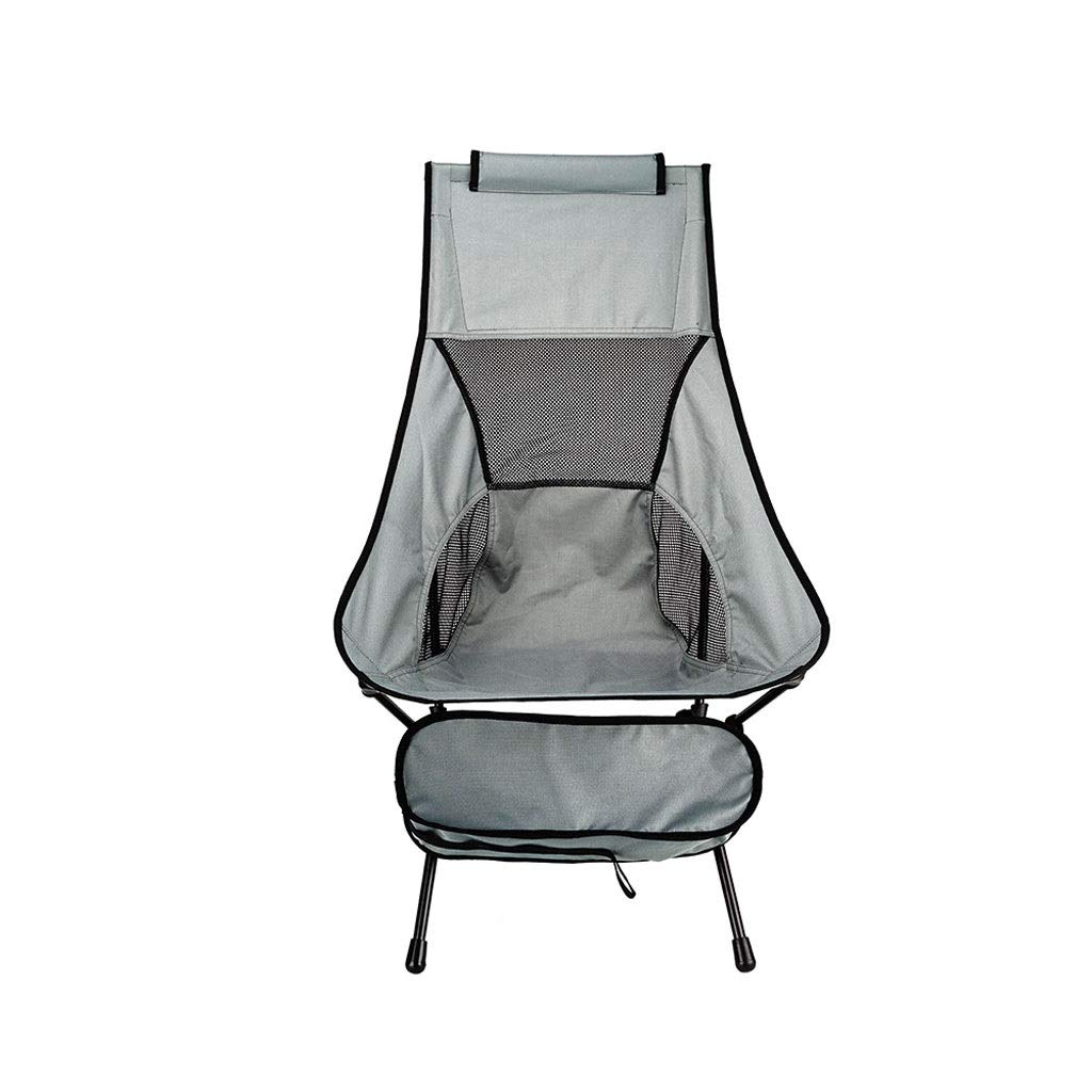 D  YYZDY12 Chaise de pêche Se Pliante Ultra légère de Loisirs de Tube en Aluminium de Tube extérieur de Plage en Aluminium de Chaise (Couleur   D)