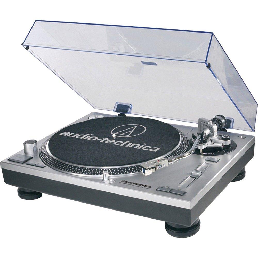 Audio-Technica ATLP120USB Direct Drive Professional USB Turntable - (Silver) by Audio-Technica