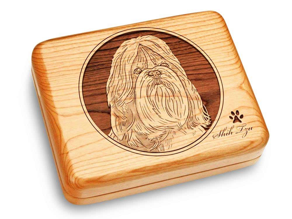 Music Box 6x5'' - Shih Tzu - Ode to Joy