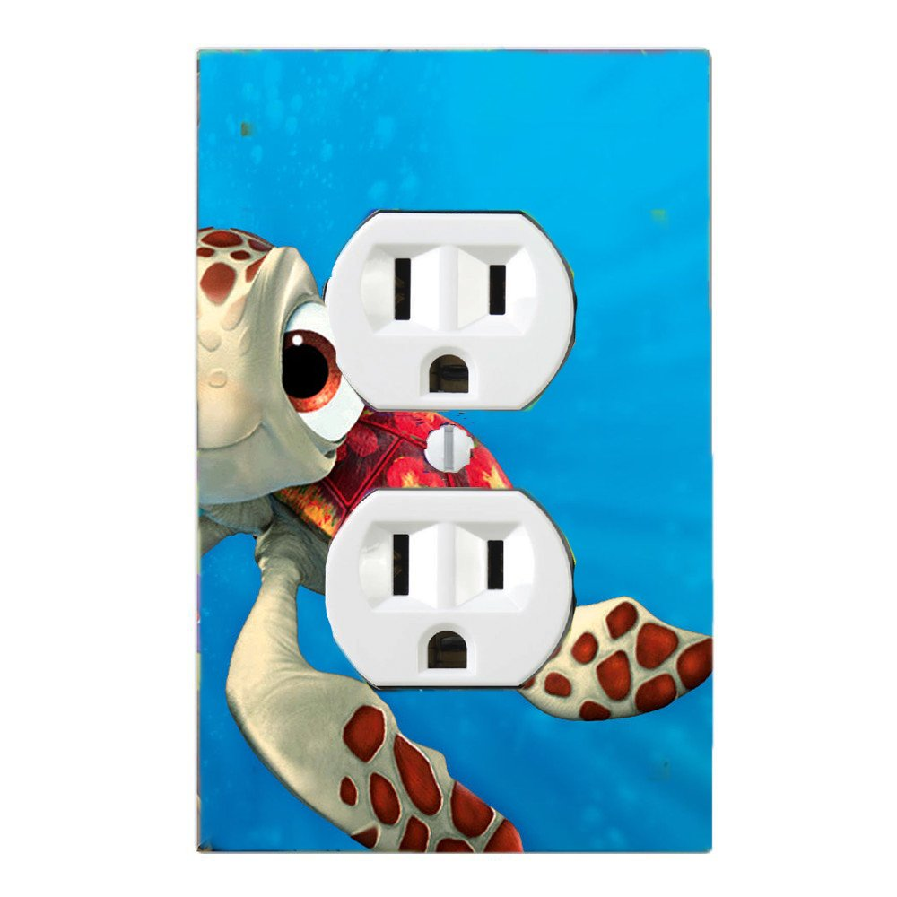 Got You Covered Finding Nemo 3 Dory & Friends Light Switch Cover or Outlet ((Option 1) 1x Toggle) dorynemo