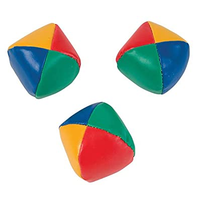 OTC Juggling Balls Toy, 3 Pieces Multi-colored: Toys & Games