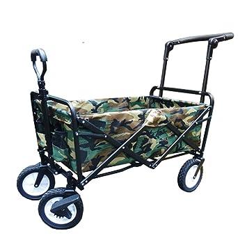 Carrito De Compras Marco De Acero Plegable Portátil Camping Wagon Para Carro De Playa Al Aire Libre,4: Amazon.es: Hogar
