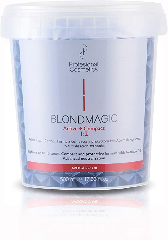 Profesional Cosmetics Blondmagic Compact Decolorante para el Pelo Dust Free - 500 gr.
