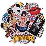 100 Stickers Pack Not Repeat, Graffiti Fashion Funny Stickers Packs for Car Adults Waterproof and Skateboard ,Random Bomb Sticker Pack