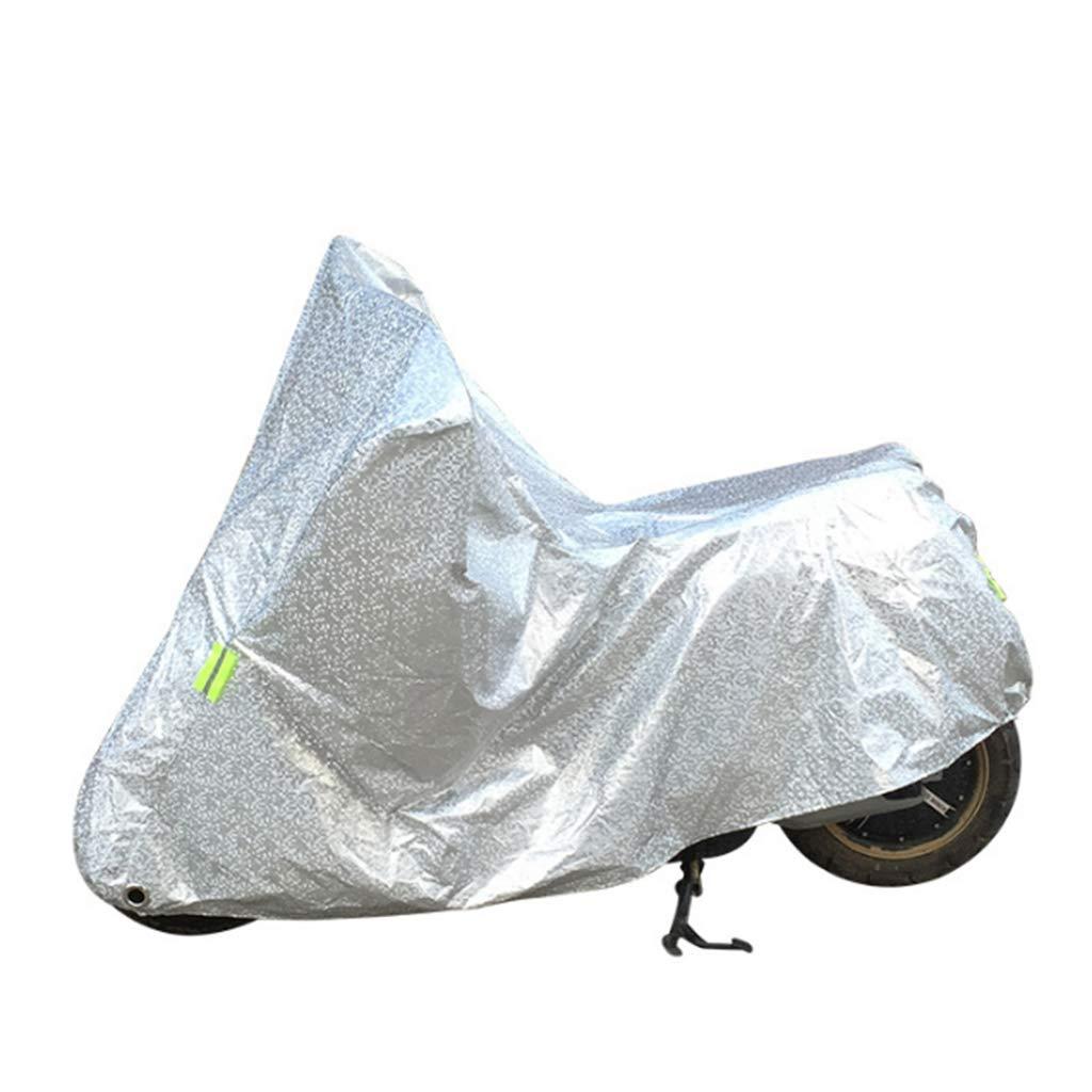 Almencla Motorradabdeckung Fahrrad Wasserdicht Outdoor Regen Staub 84,6X 41,3 X 22,1
