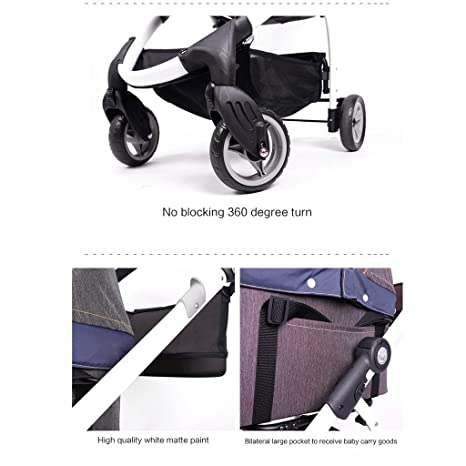 Amazon.com : PLDDY Pet Trolley, Cowboy, Four Wheels, Collapsible, Basket, Cat Trolley, Multifunction Trolley : Pet Supplies