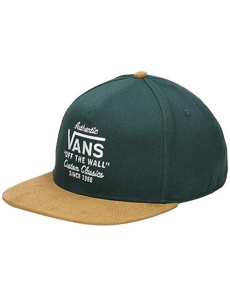Vans Gorra Wabash Snapback Verde Amarillo Talla  OSFA (Talla única para  Todos sexos f87e7ac1789