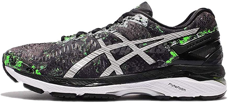 Asics Gel-Kayano 23, Zapatillas de Running para Hombre , color: Negro (Black/Silver/Green Gecko), 40.5 EU (6.5 UK): Amazon.es: Zapatos y complementos