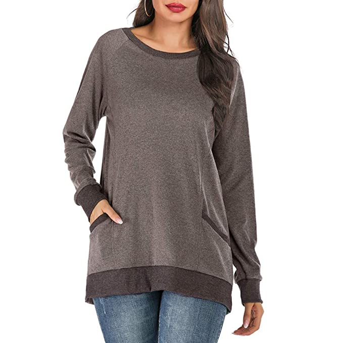 Burgundy Plain Side Zipper Pockets Cowl Neck Casual Hooded Cardigan Sweatshirt