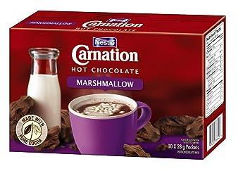 Amazon Com Nestle Carnation Hot Chocolate Marshmallow 10pk 10 X