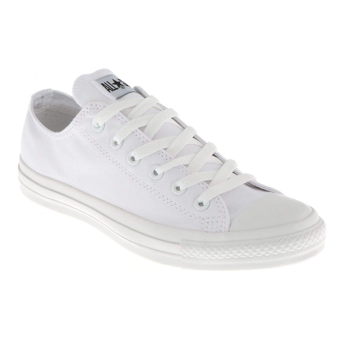 Converse All Star Ox Low White Mono Canvas Exclusive - 9.5 Uk