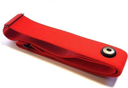 H3 Brustgurt Soft Strap ROT Red M-XXL für POLAR H1 H10 H7 H6 H2