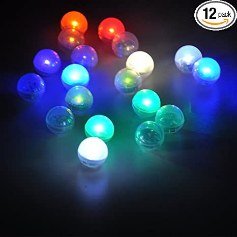online store 31124 49da0 Kitosun Underwater Lights Mini LED Lights Fairy Lights Fairy Pearls  Batteries Included Floating Waterproof Lights for Wedding Party Fountain  Baby ...