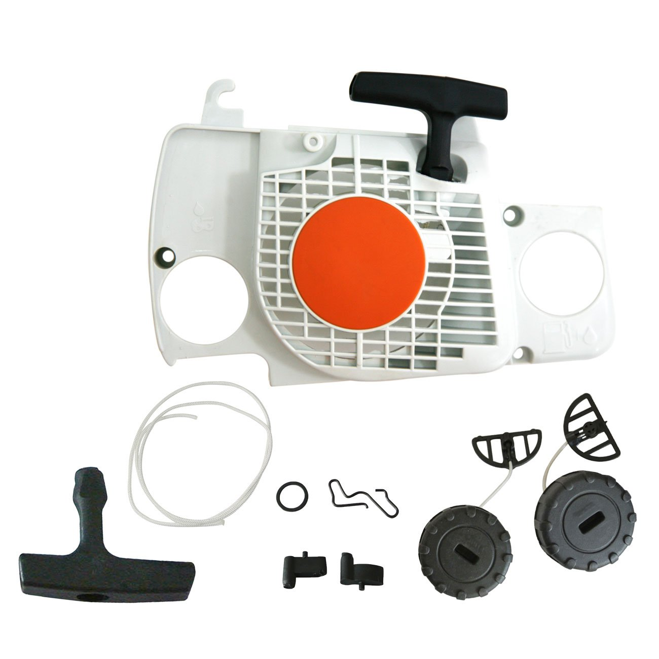 RECOIL STARTER ASSEMBLY FUEL OIL CAP for STIHL CHAINSAW MS210 MS230 MS250