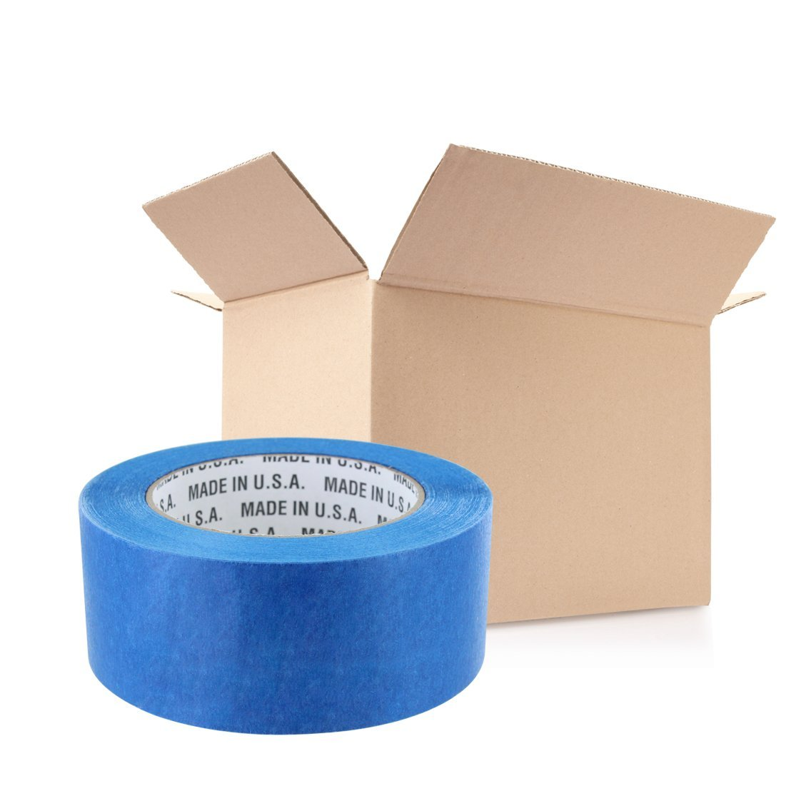 Rugged Blue M 187 Blue Painters' Masking Tape 2 in x 60 yd - 24 Pack