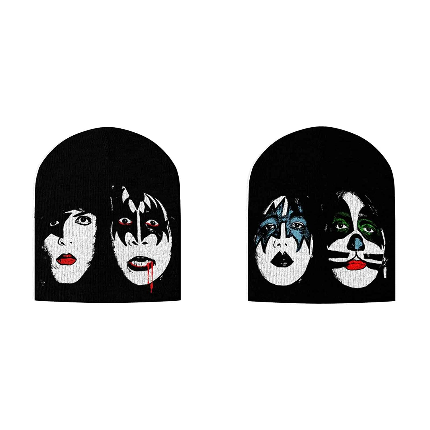 Kiss Beanie Hat KISS Dynasty band logo icons new Official Black