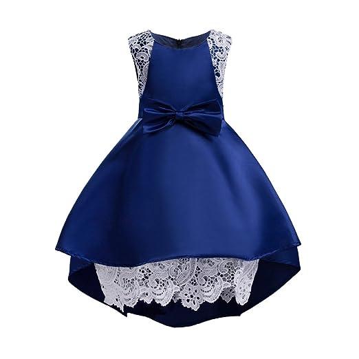 Amazon Sunny Baby Girl Short Sleeves Bowknot Dress Princess