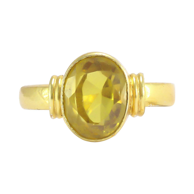 Yellow sapphire ring vedic astrology