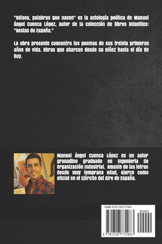 Odisea: Palabras que nacen: Amazon.es: Cuenca López, Manuel Ángel: Libros