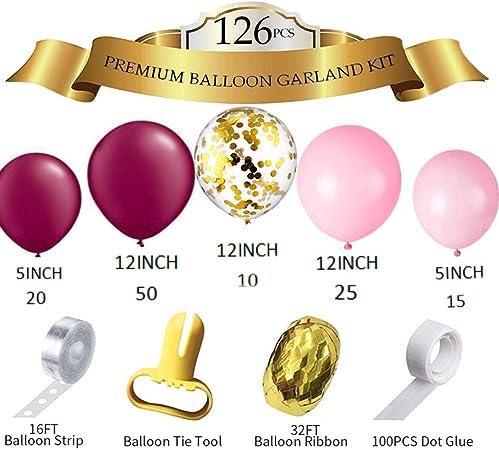 Wedding Balloons Bridal Shower Decorations, Hen Party Balloons ROS\u00c9 Bottle Junior Bottle Shape Balloon Anniversary Party Balloons