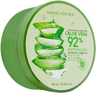 Nature Republic Soothing & Moisture Aloe Vera 92% Gel Mist, 150 Gram GEL