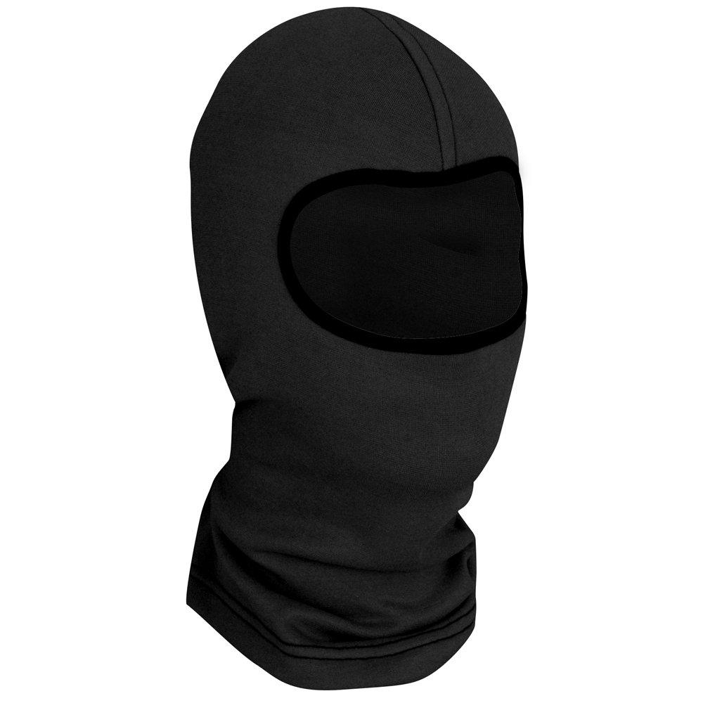 Zanheadgear Comfort Fleece Balaclava, One Size Fits Most, Black