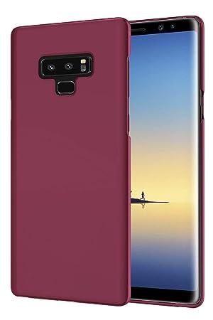 EIISSION Funda Compatible con Samsung Galaxy Note 9, Fundas para Samsung Galaxy Note 9 Carcasa ToughShell Funda táctil Funda Mate Funda Duro y ...