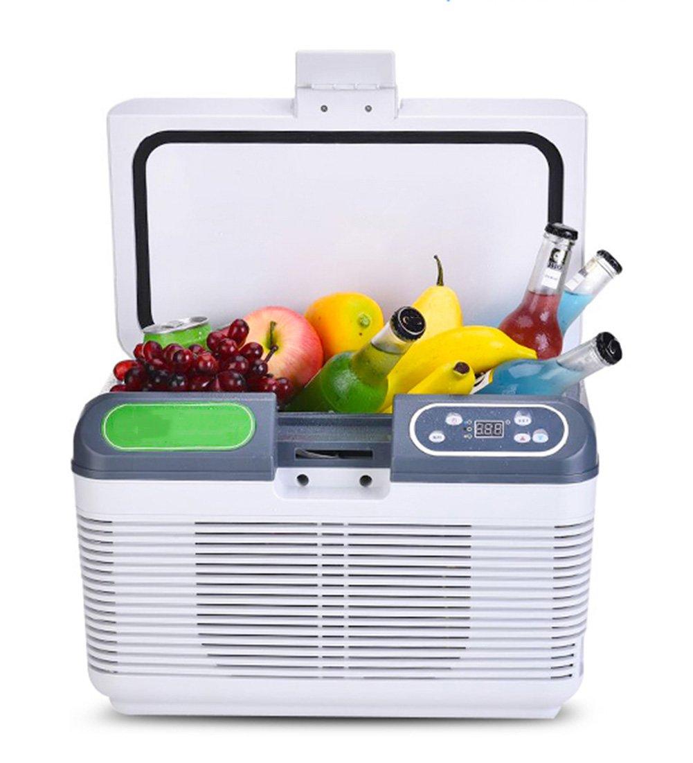 LIQICAI Elektrische Kühlbox Auto Minikühlschrank Warmkühle Temperatur Einstellbar/12V DC (Auto)/220V AC (Zuhause) (größe : 12L 2)