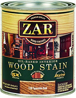 ZAR 13812 Wood Stain, Spanish Oak