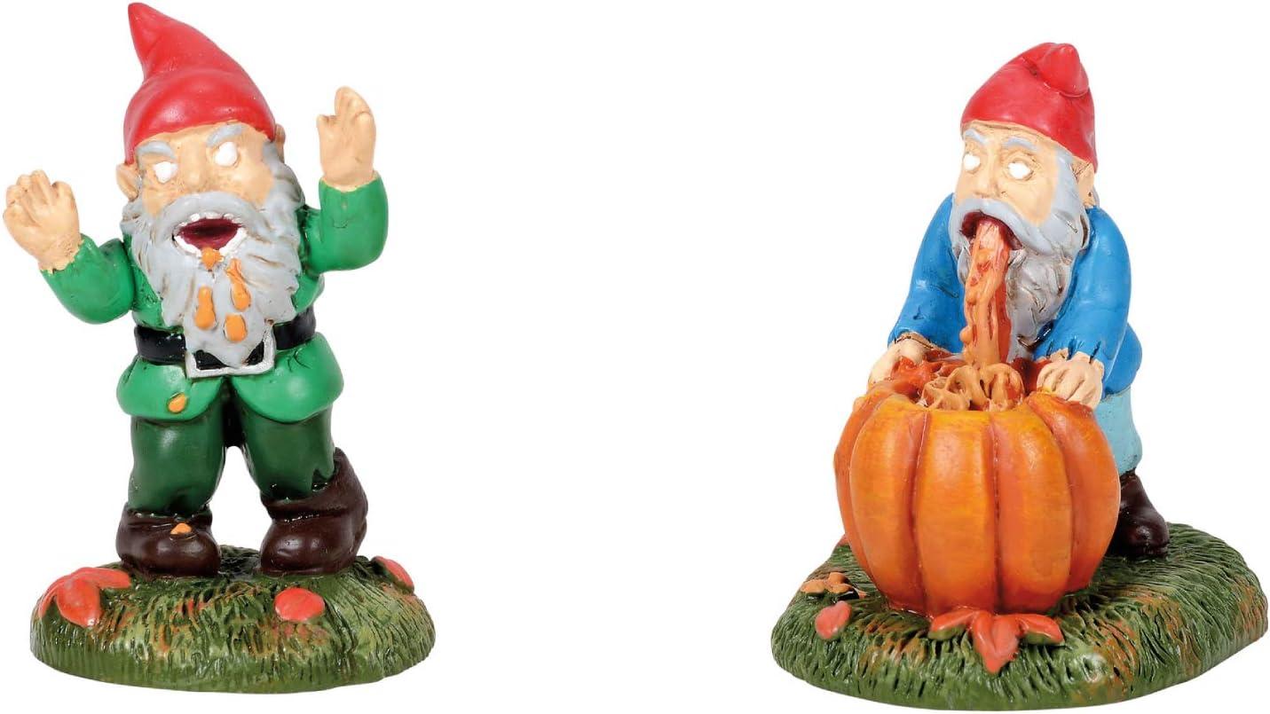 Department 56 Village Collection Accessories Halloween Gnombies Miniature Figurine Set, 1.875 Inch, Multicolor