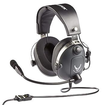 Thrustmaster - Auriculares De Gaming Multiplataforma con Licencia Oficial De La Fuerza Aérea De EE.