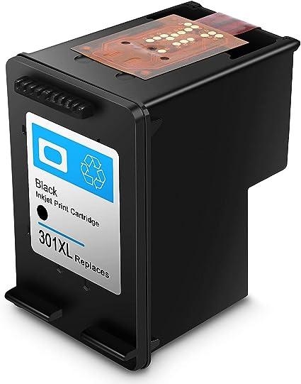 Cartucho de Tinta regenerado HP 301 HP301 XL Cartuchos de Tinta de Alto Rendimiento (1 Negro): Amazon.es: Electrónica