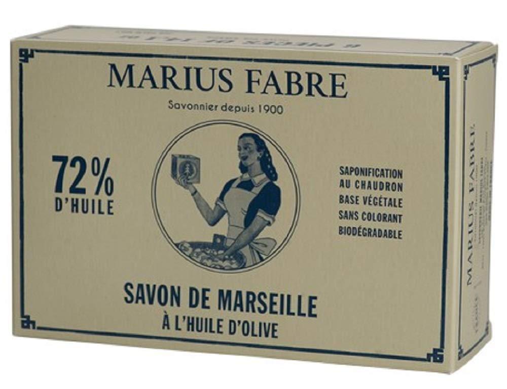 Amazon.com: Marius Fabre 6 Pak Pure Marsella 72% Aceite de ...