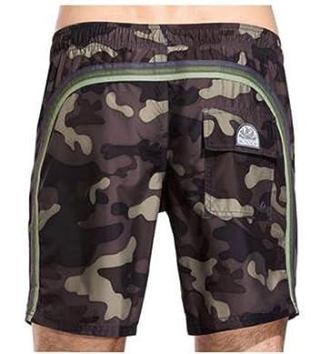Sundek-Costume da bagno,militare,uomo,Ar. Green 3,S: Amazon.it ...