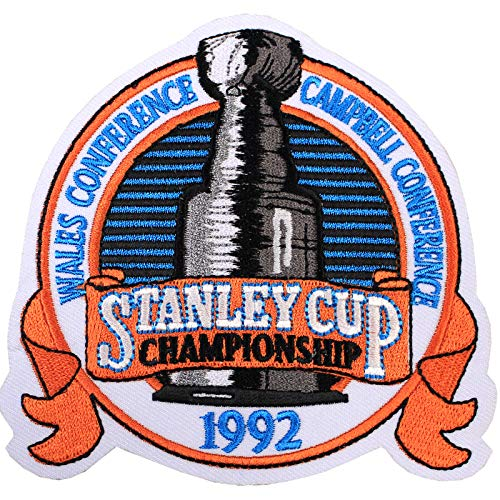 1992 NHL Stanley Cup Final Championship Wales Conference Jersey Patch ()