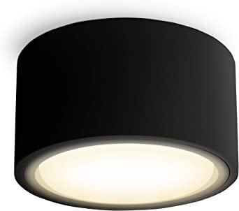 4er Set LED Aufbaustrahler flach CELI-X rund /& weiß mit 5,5W warmweiß GX53 LED