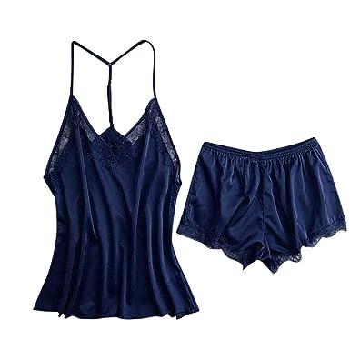 dee6baddc3 Modaworld Robe de Nuit Femmes Liquidation Mode Soie Kimono Robe Babydoll  Dentelle Lingerie Sexy Robe Chemise de Nuit sous-Vêtements Grande Taille  Sling ...
