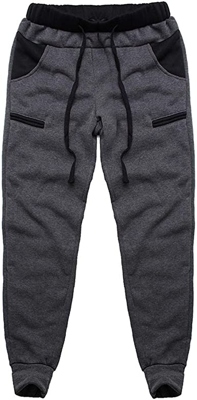 Elastic Low Rise Sweatpants Sports Compression Pants Polyester Running Tights