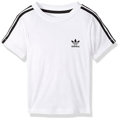 a004479fa0 Amazon.com: adidas Originals Boys' Infant 3 Stripe Tee: Clothing