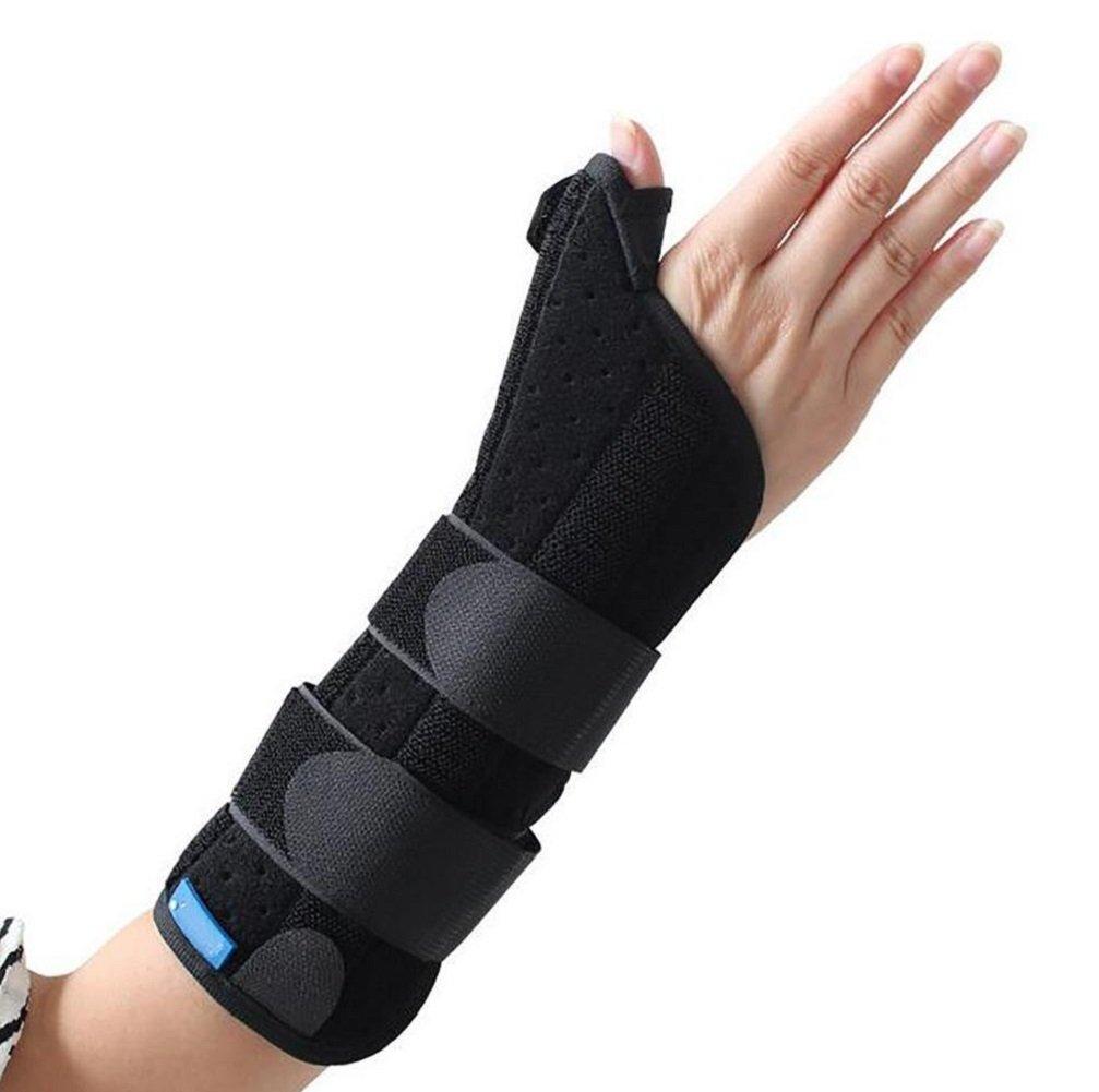 Wenrityent Daumenstütze Handgelenk Skaphoidfrakturen mit Metall Handgelenk und Daumen ideal für Verletzungen des Daumens,Skaphoidfrakturen