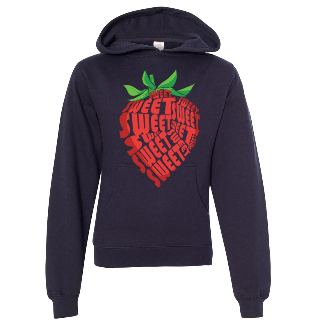 Sweet Strawberry Premium Youth Sweatshirt Hoodie